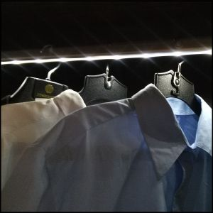 Adjustable LED Closet Rod for Wardrobes pictures & photos
