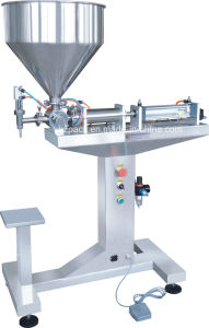 Vertical Single Head Paste Filling Machine/Paste Filler From China pictures & photos