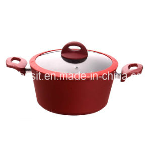 Xylan Nonstick Coated Aluminium Pots and Pans Cookware Set pictures & photos