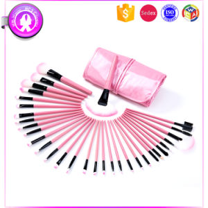 32PCS Pink Professional Cosmetic Makeup Brushes Set pictures & photos