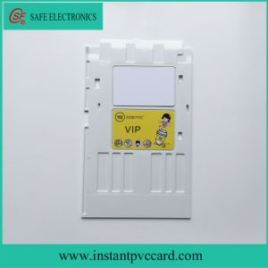 White PVC Card Tray for Epson L801 Printer pictures & photos