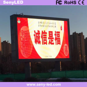 Shenzhen Factory Outdoor Full Color LED Display Sign for Video Advertising (P10mm) pictures & photos