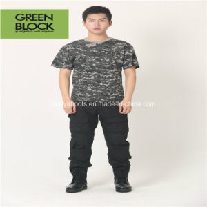 Army Crew-Neck Camouflage T-Shirt for Men