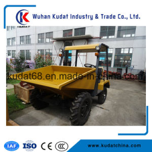 1.5tons Site Dumper with Mechanic Tipping SD15 11d pictures & photos