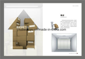 Vvvf Traction Driving Freight Goods Cargo Material Elevator pictures & photos