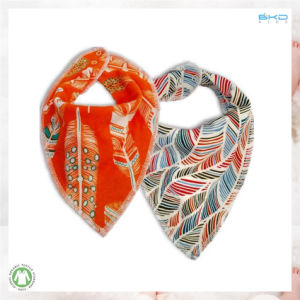 Water Printing Baby Accessory New Design Baby Bandana pictures & photos