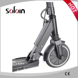 Foldable 2 Wheel Electric Brushless Motor Mobility Foot Scooter (SZE250S-5) pictures & photos