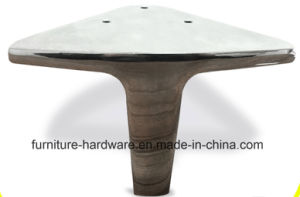 Replacement Furniture Parts Metal Polished Chrome Legs for Sofa Footstool pictures & photos