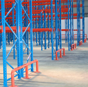 Heavy Duty Safety Barrier for Racking Frame Protection pictures & photos