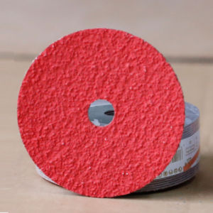 115mm Zirconia & Aluminum Oxide Fiber Disc for Stainless Steel pictures & photos