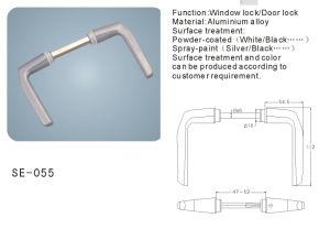 Aluminum Alloy Window Handle Door Handle (SE-055) pictures & photos