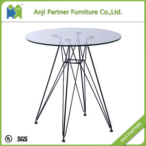 Cheap MDF Top with Chromed Steel Base Bar Table (Dale) pictures & photos