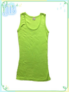 Lady Fashion Clothing Knit Sleeveless Summer Modal Tanktops pictures & photos