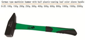 German Type Machinist Hammer with Plastic Coating Handle pictures & photos