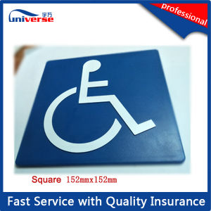 Isa Wheelchair Sign/Plastic Molded Signages pictures & photos