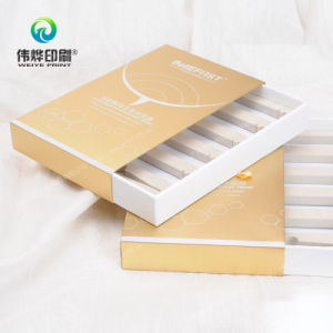 Elegant Silver Stamping Paper Packaging Box Printing (for Marks) pictures & photos