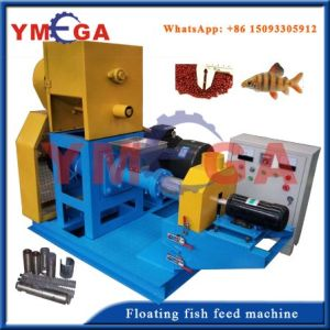with High Reputation in Nigeria Floating Fish Feed Pelleting Machine pictures & photos