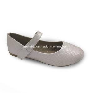 Classic Comfort Flat Children Ballerina Pumps Shoes pictures & photos