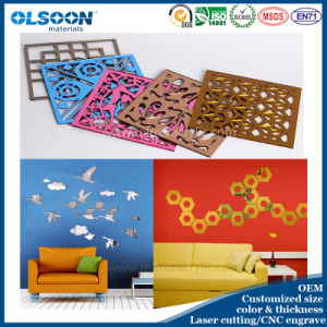 Customized Design Acrylic Home Decoration Wall Mirror/Furniture Mirror/Decorative Mirror pictures & photos