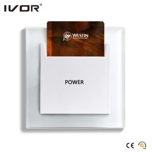 Energy Saver Key Card Power Switch for Any Card Plastic Frame Us Standard (SK-ES2000N-US) pictures & photos