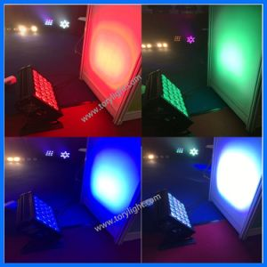 Popular LED Indoor Stage Light 24 PCS *12W Wash Lighting pictures & photos