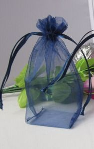 Standing Drawstring Organza Pouch