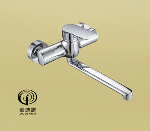 Brass Body Zinc-Alloy Handle Kitchen Faucet&Mixer 70059 pictures & photos