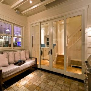 Modern Aluminium Glass Door Design Aluminium Folding Door with Black Painting pictures & photos