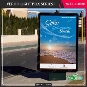 Double Sided Scrolling Light Box for Outdoor Advertising Mupi pictures & photos