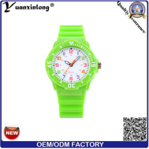 Yxl-343 Wholesale Fashion Quartz Wristband Silicone Watch, Kids Silicone Wrist Watch for Child pictures & photos