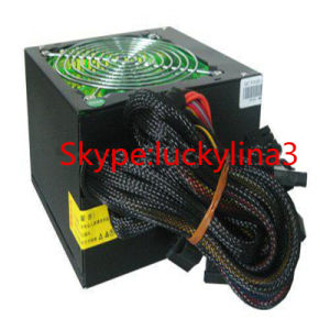 High Efficiency 350W Computer Power Supply with Sleeve Net pictures & photos