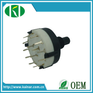 RS23 Precision Rotary Switch with 3/4/6/12 Click pictures & photos