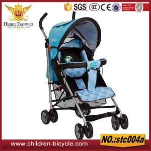 High Quality Blue with Safe Bell Seat Baby Strollers pictures & photos