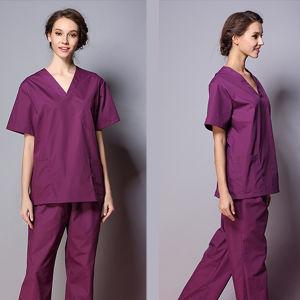 OEM Service Medical Scrubs Nurse Hospital Uniform Designs pictures & photos
