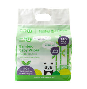 Zipper Pack Baby Wipes 240 PCS Alcohol Free pictures & photos