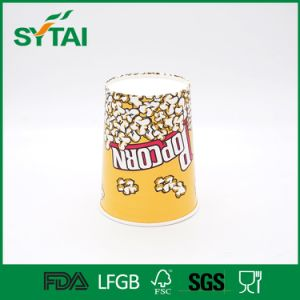 Cinema Use High Quality Biodegradable Disposable Popcorn Paper Bucket pictures & photos