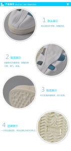 Antistatic Cleanroom PVC Canvas Work Shoe pictures & photos