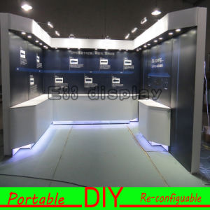 Custom Portable Modular LED Illuminated Exhibition Booth Stand pictures & photos