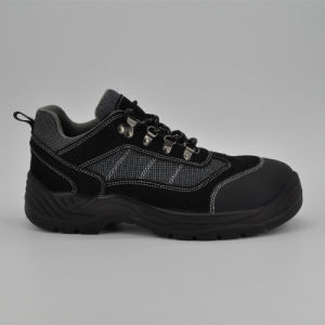Leather Steel Toe Cap Kevlar Sole Safety Shoes pictures & photos