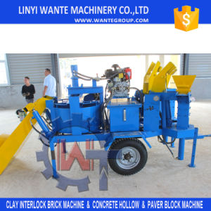 Small Earth/Clay/Sand Interlocking Brick/Block Making Machine pictures & photos