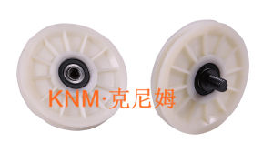 Elevator Part Diameter 90 Nylon Rope Pulley Kc004 pictures & photos