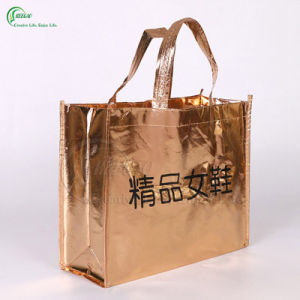 Promotional Logo Printed Shopping Non Woven Bag (KG-PN004) pictures & photos