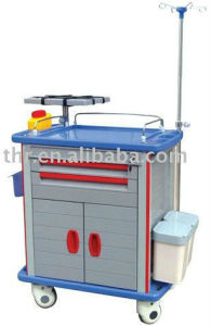 Thr-Et-85001e Hospital ABS Emergency Trolley pictures & photos