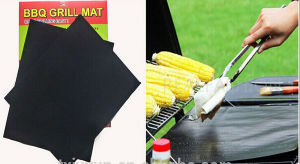 Hot Sell Fireproof Charcoal Non-Stick BBQ Grill Mat pictures & photos