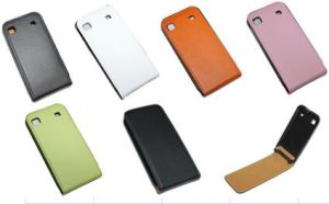 I-23A Smart Phone I9000/S1 Use Flip Leather Case Anti-Drop for Samsung pictures & photos