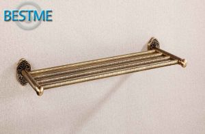 House Use Brass Towel Bar From China (BG-D7012) pictures & photos