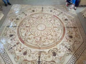 Chinese Traditional Style Custom-Made Parquet /Engineered Wood Flooring pictures & photos