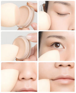 Olive Cut Shape Makeup Sponge Teardrop Shapes Beauty, Applicators for Foundations, Creams etc Nonlatex Make up Sponge pictures & photos