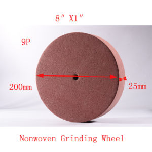 "8""X1"" 9p Wire Drawing Roll Grinding Wheel Surface Conditioning Wheels pictures & photos"
