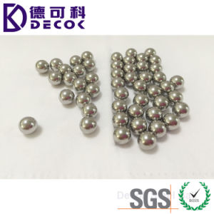 3.17mm 4.76mm 5.5mm 10mm 12mm 25.4mm AISI304 Solid Stainless Steel Ball pictures & photos